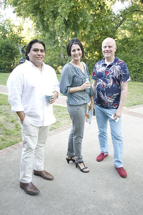 Ricky Martinez, Becky Casares & Crispin Martinez