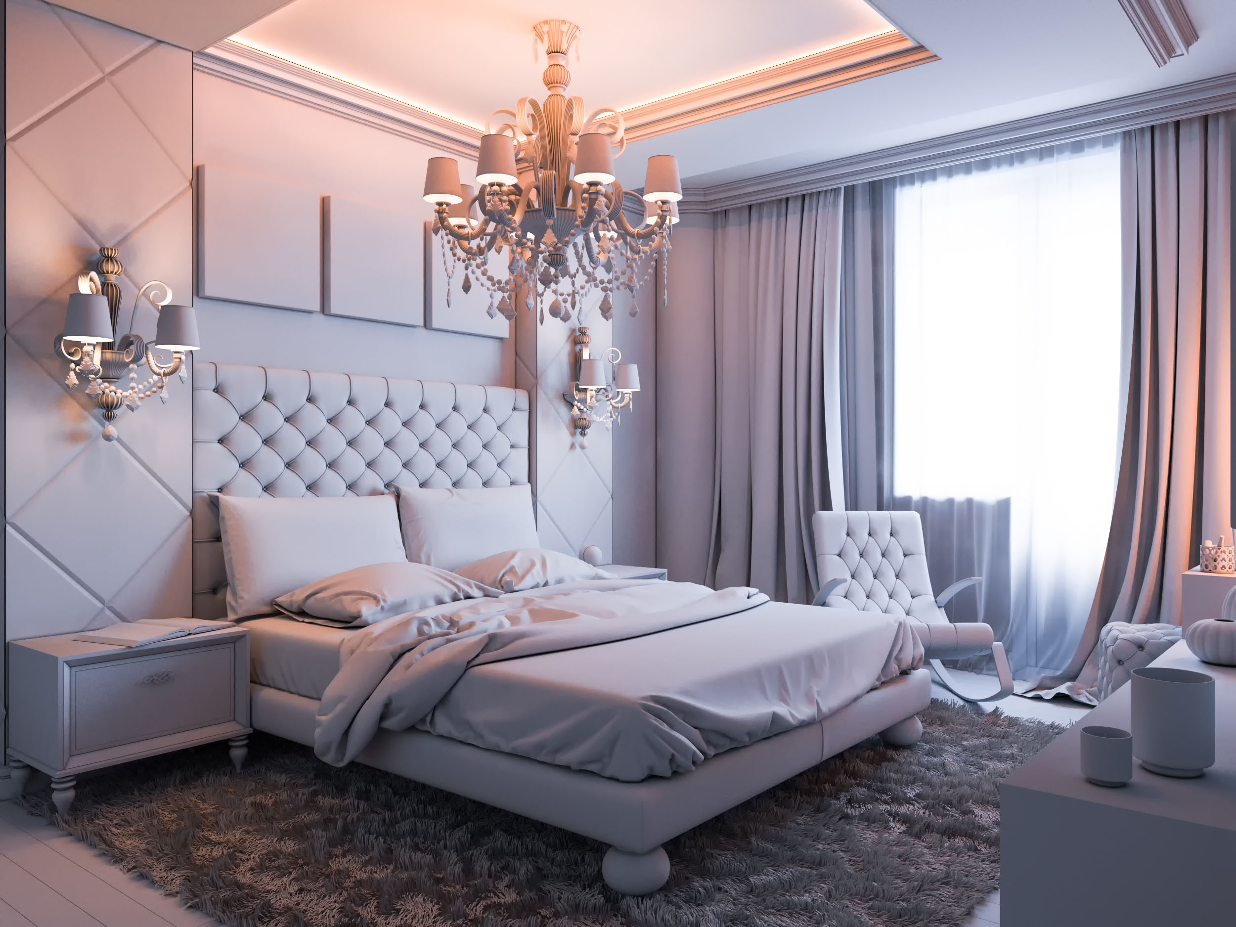 3d Fall Ceiling Wallpaper Blending Designs To Create A Couples Bedroom Tribune