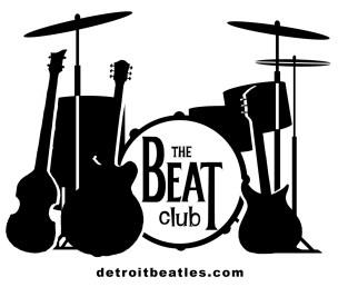 Beat Club Instrument Logo wdetroitbeatles.com