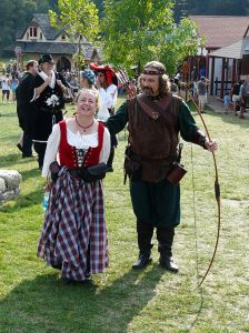 Typical Renaissance Fair couple