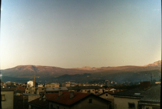 view from Knin window