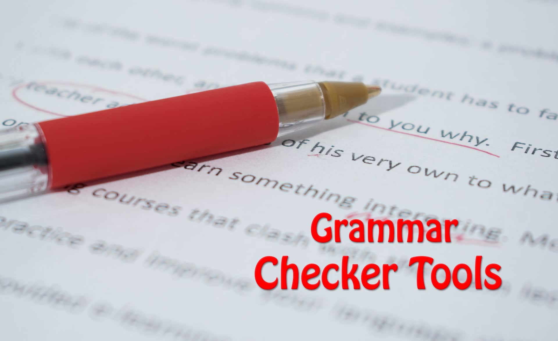 Gamma Hek 5 Best Online Grammar Checker Tools For Bloggers