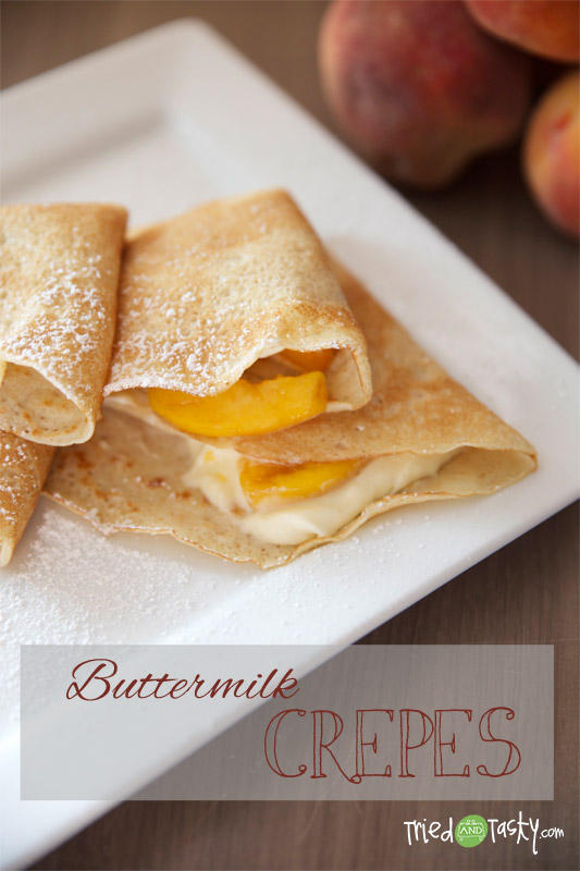 Buttermilk Crêpes // TriedandTasty
