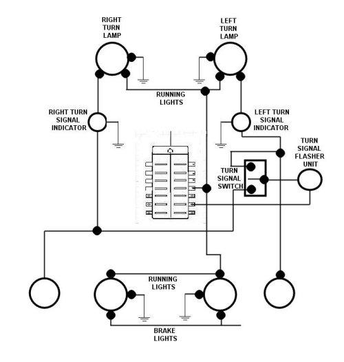 67 Vw Bug Turn Signal Switch Wiring Diagram Wiring Diagram