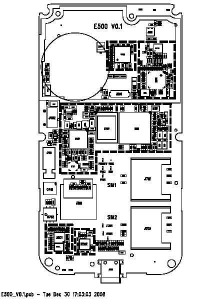skema diagram nokia e63