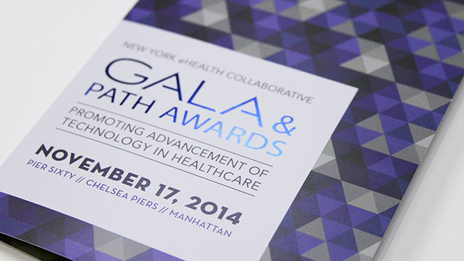 New York eHealth Collaborative Gala Invitation - Trillion Creative