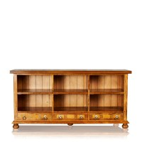 Bookcase  6 Shelf & 3 Drawer 1  Trilogy Furniture