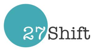 27 Shift logo