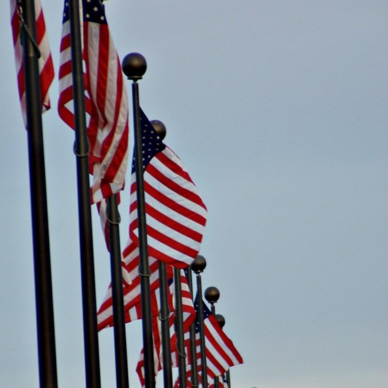 RAISING OUR FLAG
