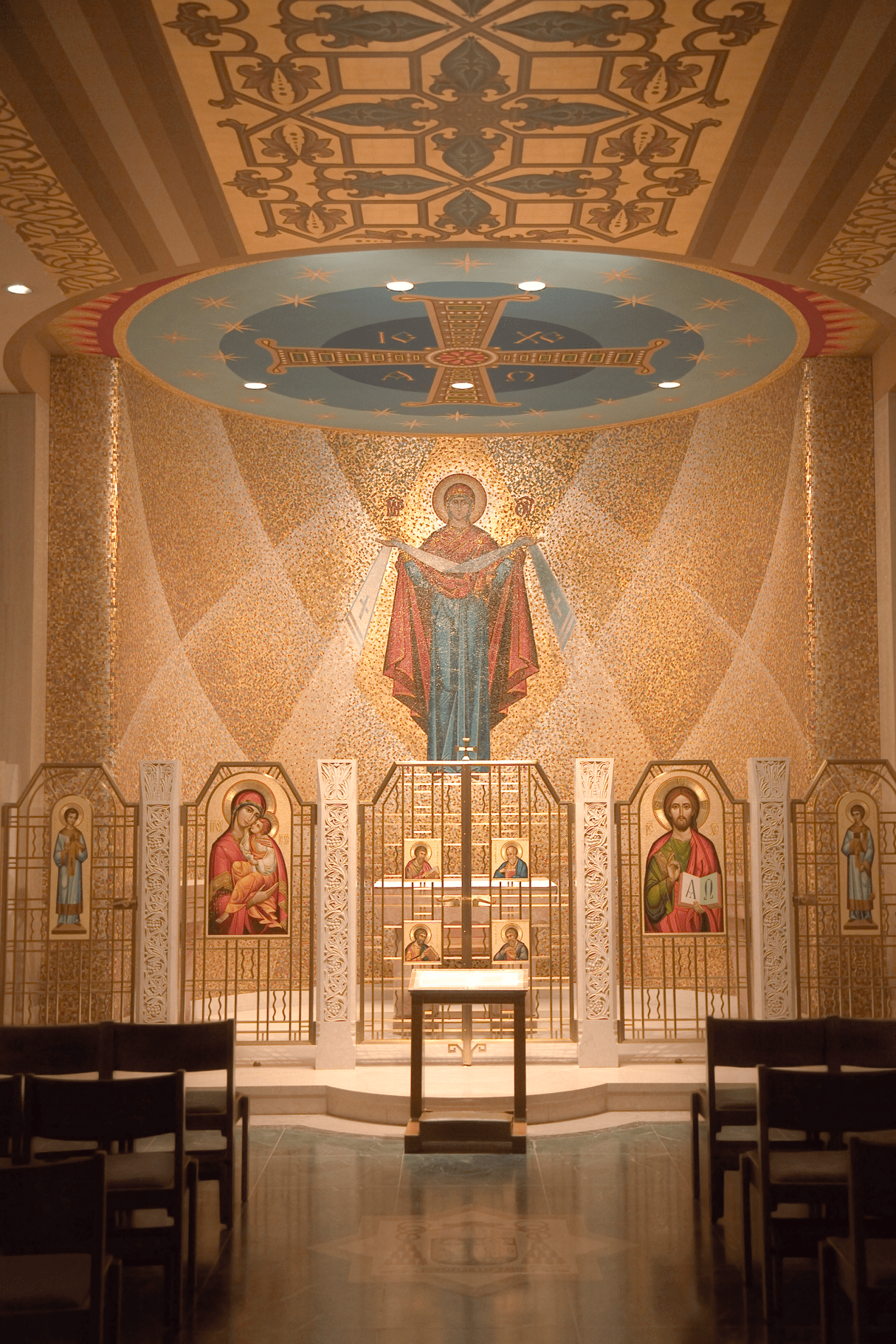 Art Decoration Conception Did You Know Mosaic Art The National Shrine Trinity Dome