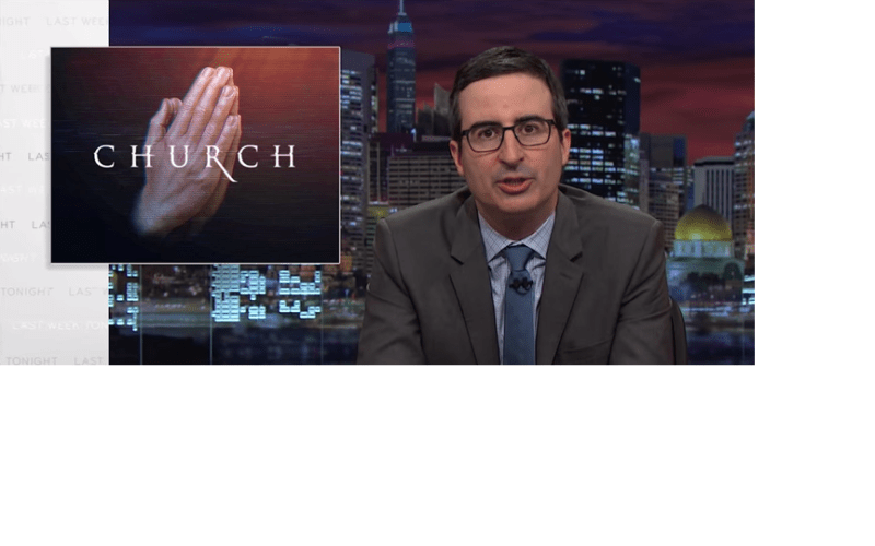 HBO's John Oliver Mocks Money Hungry TV Preachers