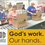 Trinity Serving at Central PA Food Bank for ELCA Day of Service