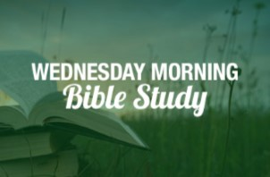 Wednesday Bible Study Continues In January