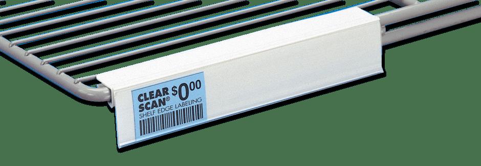 Clear Scanr Storewide Label Holder System Trion