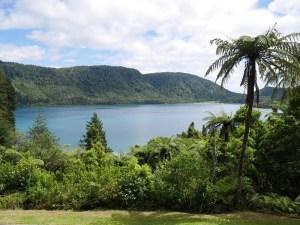 Blå sø