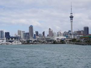 Auckland set fra havnen