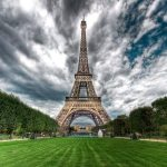 Eiffel Tower in france