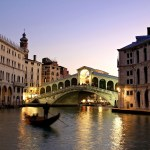 The Rialto Bridge, the best known bridge in Venice