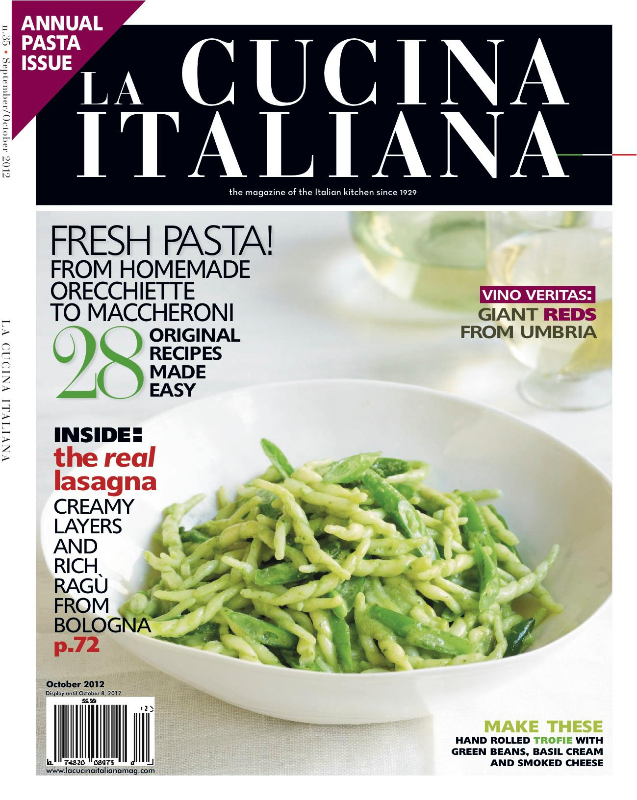 The Magazine Of La Cucina Italiana La Cucina Italiana Magazine Tripfashionbites