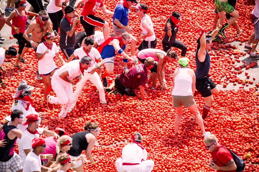 Travel Air Chennai Just Enjoy The La Tomatina Festival Of Spain