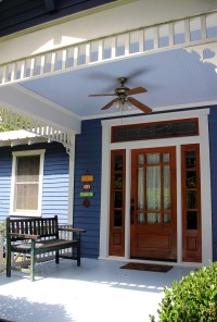 Southern Style: Haint Blue Porch Ceilings on the New ...