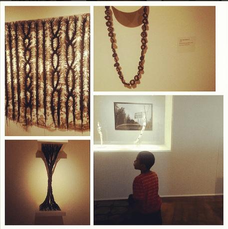 Sonya Clark's work at the CAFAM
