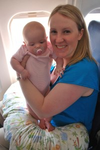 Infants in laps can be costly for international travel.