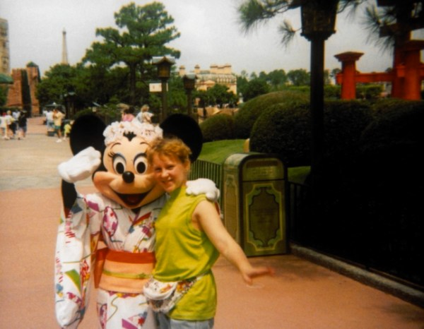 Fanny packs at Walt Disney World