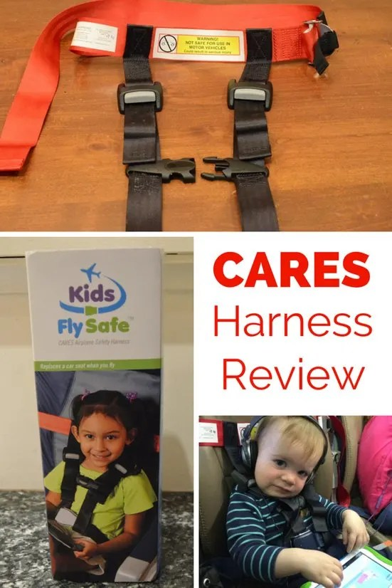 Cares Harness Review An Alternative To Car Seats On Planes Trips With Tykes