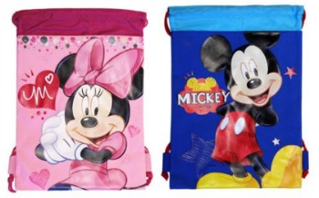 Disney Stocking Stuffers - Drawstring Backpacks