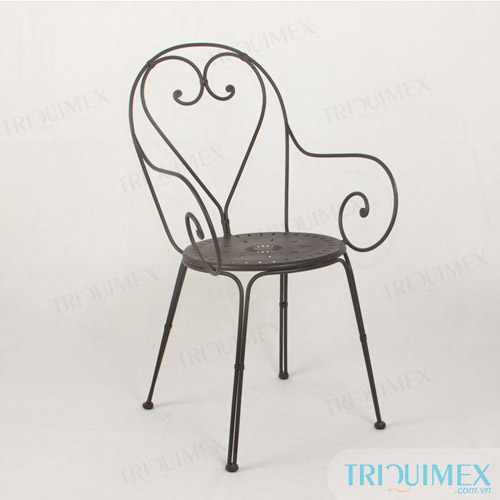Iron Bistro Chair from Vietnam Iron Patio Chair Manufacturer