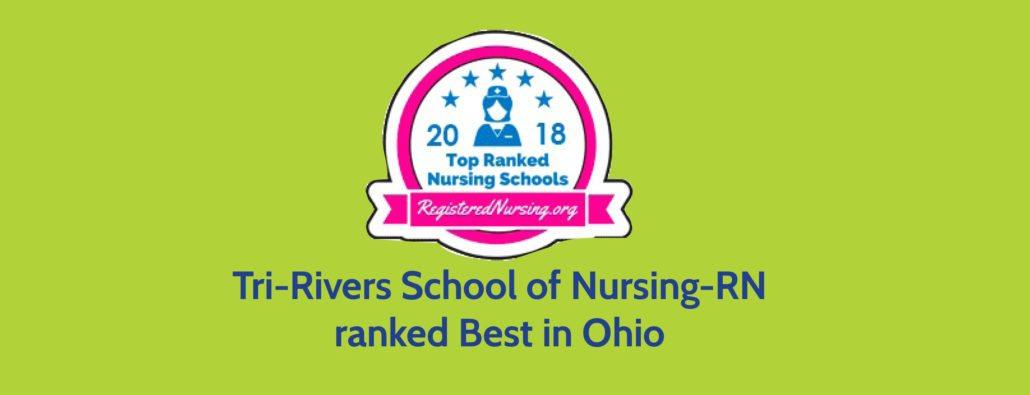 Tri-Rivers School of Nursing RN ranked as Best in Ohio Tri-Rivers
