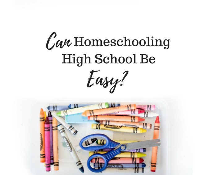 Can Homeschooling Be