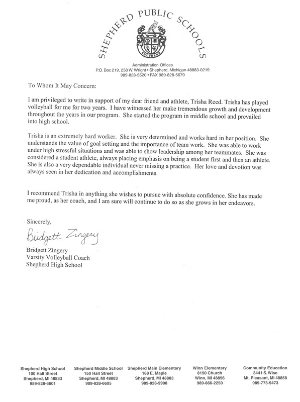 who to get letter of recommendation from