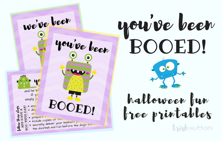 You\u0027ve Been Booed Halloween Fun Free Printables