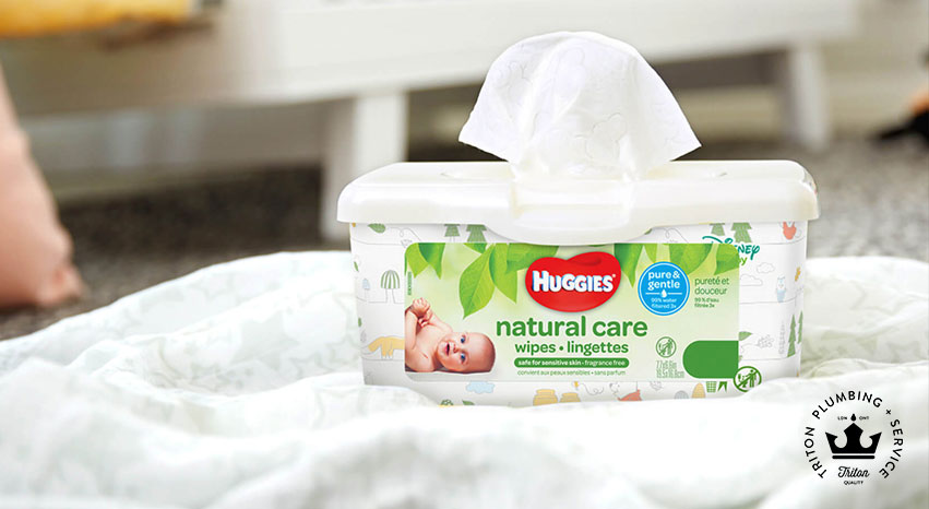 Do Not Flush Baby Wipes Down The Drainever Triton