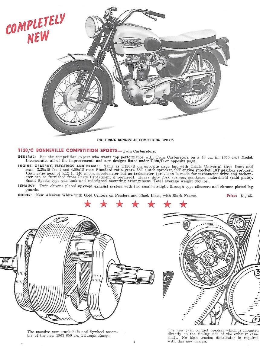 1968 650 bonneville triumph Schaltplang