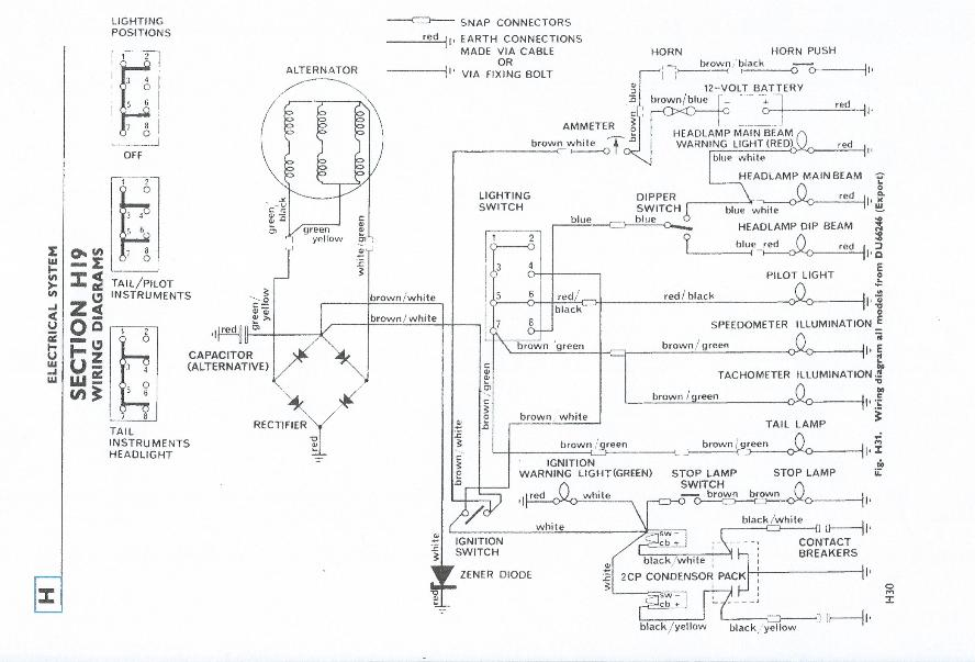 1970 Tr6 Wiring Diagrams Electronic Schematics collections