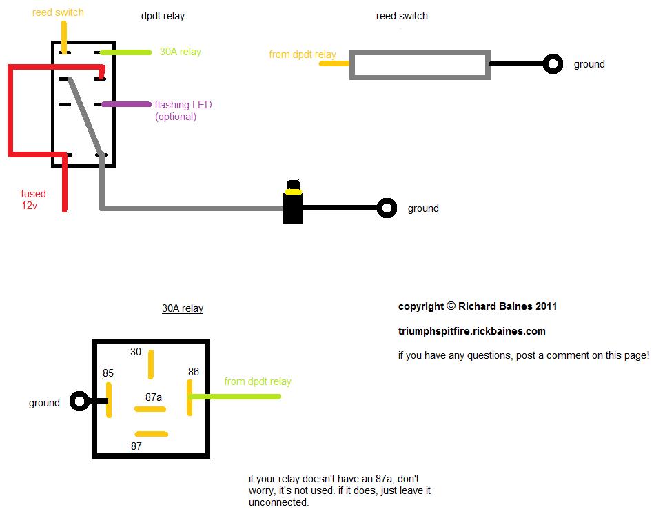 1963 triumph spitfire wiring diagram