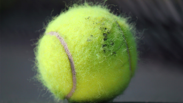 The answers to 4 tennis ball questions you never knew you had - why is there fuzz on a tennis ball