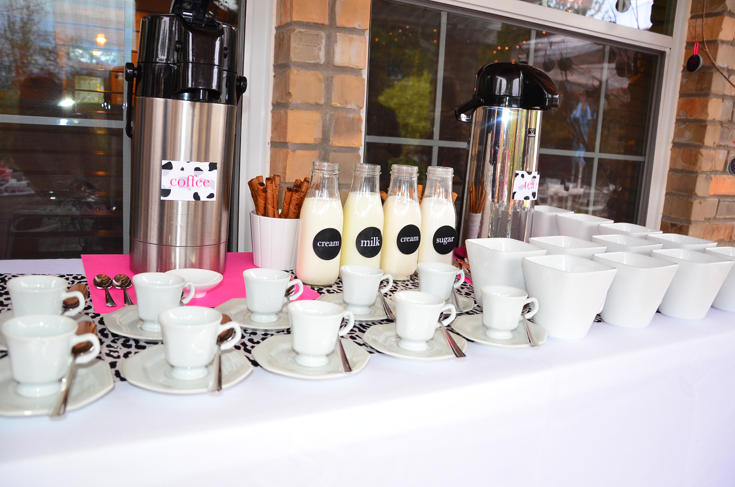 Coffee Bar Ideas For Party Baby Shower