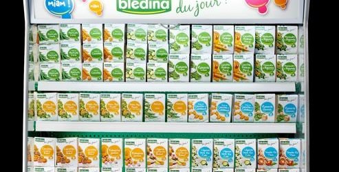Danone to launch chilled Blédina baby food range
