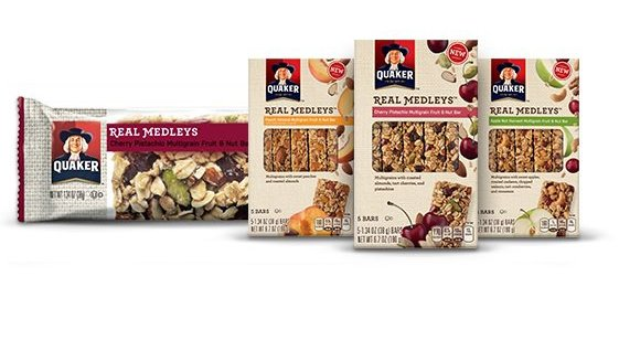 Product Spotlight: Quaker Real Medley Bars