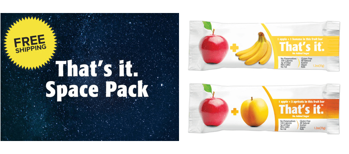 Industry News: That's it.® Fruit Bars Join Astronauts on International Space Station
