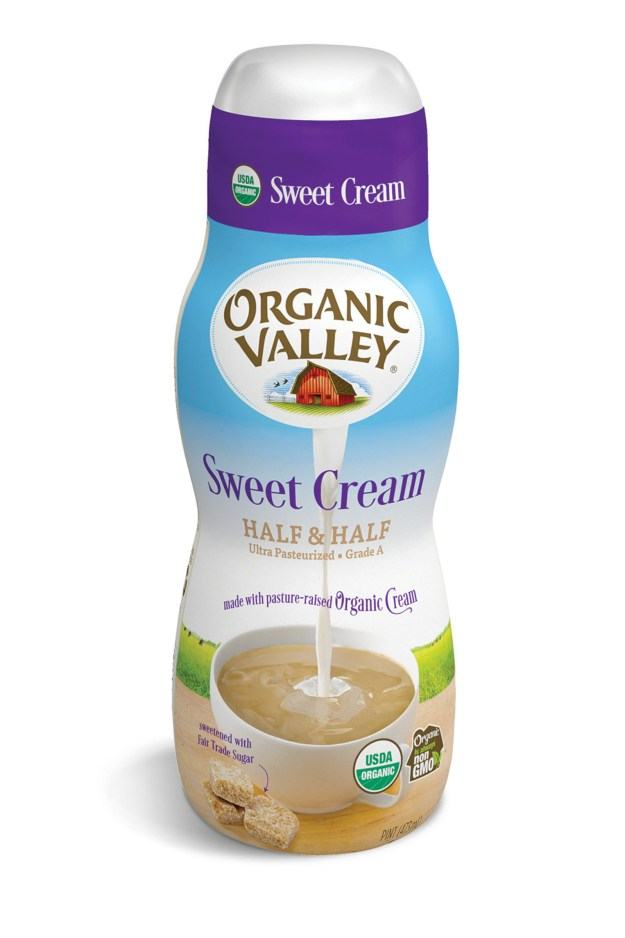 Organic Valley Debuts the First Organic Sweet Cream Half & Half (PRNewsfoto/Organic Valley)