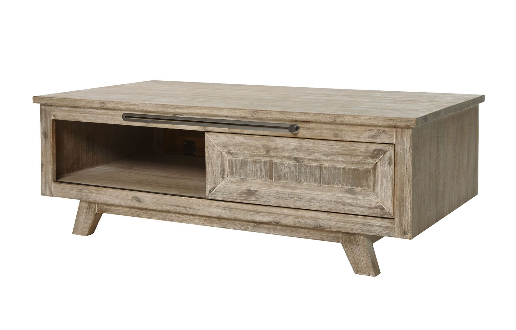 Table Basse En Bois Made In Belgium Table Basse Bois Massif Style Rustique Chic Krabi