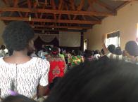 Fra den lille menigheten i Kampala. Dette er fra møtet søndag formiddag og etter.
