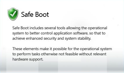 SAFE BOOT