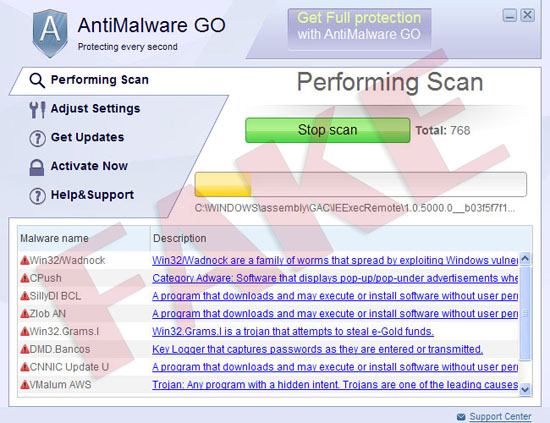 AntiMalware GO virus