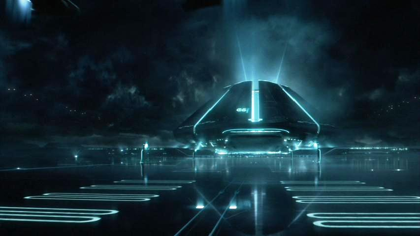 3d Moving Wallpapers City Lights Tron Legacy